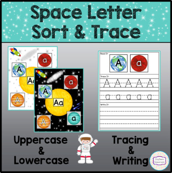 Space Letter Sort & Trace