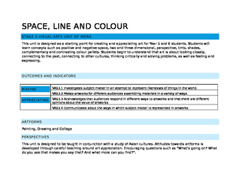 Space Line and Colour