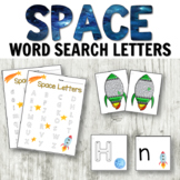 Space Literacy Centers: Letters and Writing Pack Rocket Theme