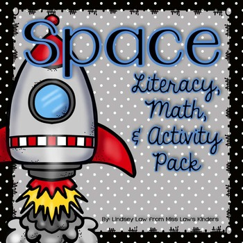 Space Literacy, Math, & Activity Pack
