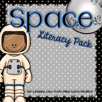 Space Literacy Pack with Craftivity