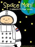 Space Man! Minilesson for Finger Spacing