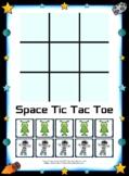 Space Man Tic Tac Toe