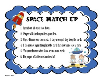 Space Match Up Addition