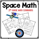 Space Math: 2nd Grade CCSS Aligned Standards Practice