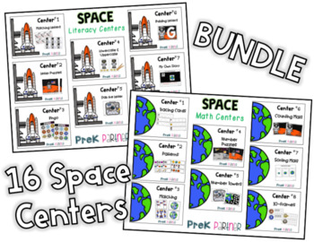 Space Math & Literacy {{BUNDLE}}