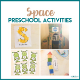 Space Math, Literacy, STEM, and Art Activities for Prescho