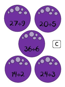 Space Math - Multiplication & Division Centers