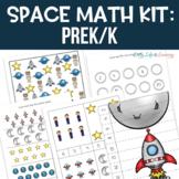 Space Math Pack for Preschool