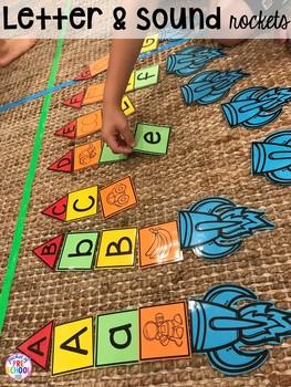 Space Themed Math Worksheets For Kindergarten