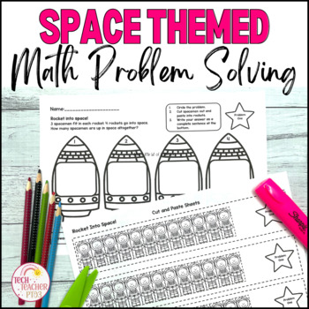 Space Maths Problem Solving Find Pattern Make a Table Part