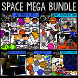 Space Mega Bundle {Creative Clips Digital Clipart}
