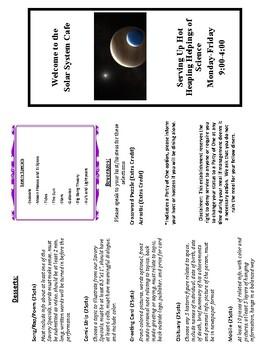 Space Menu Project