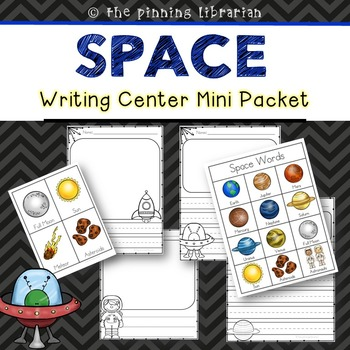 Writing Center Activities (Space Themed)