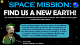 Space Mission: Find us a New Earth!