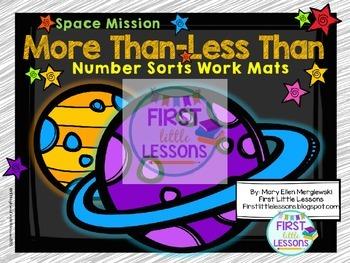 Space Mission Number Sorts Bundle