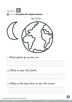 Space - Moon (I): Blends FL, FR - Kindergarten, K3 (5 years old)