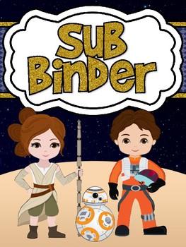 Space Movie Inspired Sub Binder