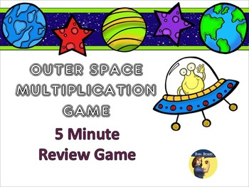 Space Multiplication - 5 Minute Review Game