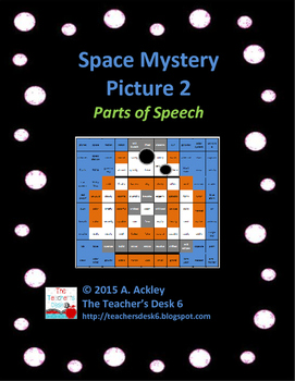 Space Mystery Picture 2 Parts of Speech