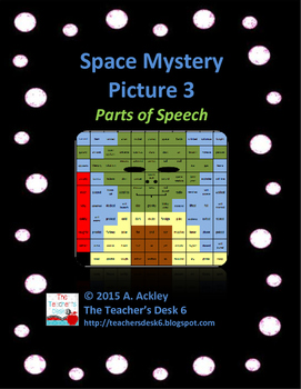 Space Mystery Picture 3 Parts of Speech
