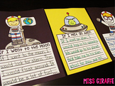 Space Writing Craft Activities NO PREP Solar System Fun