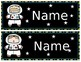 Space Name Plates