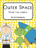 Space Name Tag Labels {Editable}