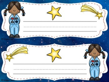 Space Name Tags