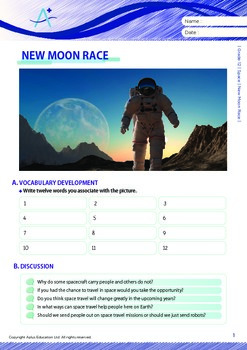 Space - New Moon Race - Grade 12