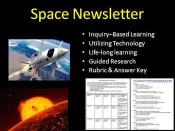 Space Newsletter Assignment - Inquiry-based Assignment
