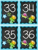 Space Number Cards 0-50