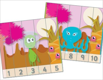 Space Number Puzzles