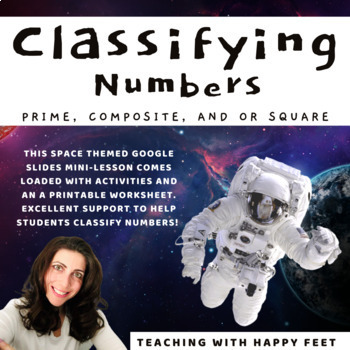 Space Numbers: Prime and Composite Classification