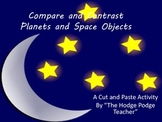 Space Objects Compare and Contrast