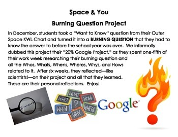 """Space - Open Research - """"20% Google"""" Student Project"""