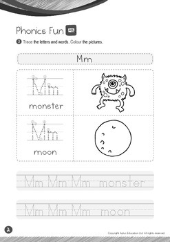 Space - Other Planets (III): Letter M - Kindergarten, K2 (4 years old)
