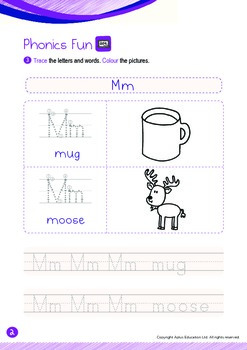 Space - Other Planets (IV): Letter M - Kindergarten, K2 (4 years old)