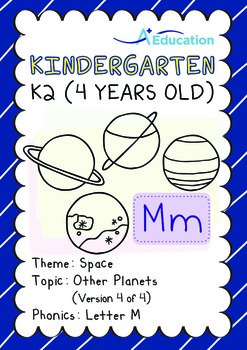 Space - Other Planets (IV): Letter M - Kindergarten, K2 (4