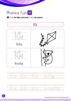 Space - Our Earth (III): Letter K - Kindergarten, K2 (4 years old)