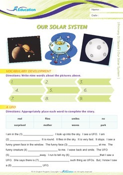 Space - Our Solar System - Grade 3