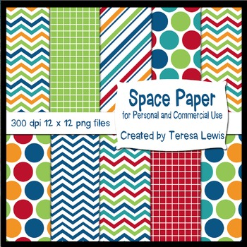 Space Papers FREEBIE