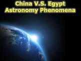 Space Phenomena History