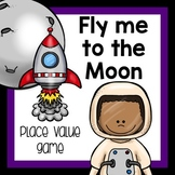Space Place Value Game of Exchanging and Trading Values