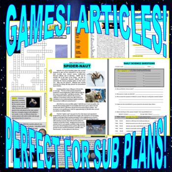 SPACE & PLANETS Bundle Package #1 (9+ Assignments & Lessons)