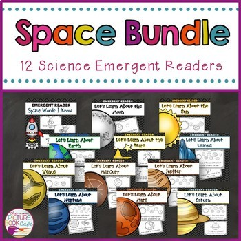 Space Facts Emergent Reader Bundle