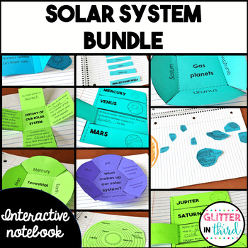 Space & Planets Interactive Notebook