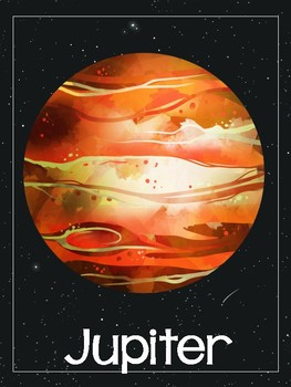 Space Planets Nonfiction Text and Posters
