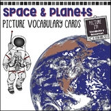 Space & Planets -  Picture Vocabulary Cards