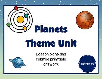 Space - Planets Theme Unit